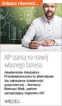 Akademickie Inkubatory Przedsiębiorczości - wywiad